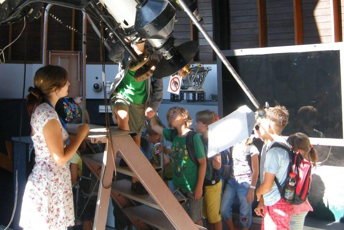 astronomický příměstský tábor
